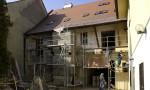 stavba rekonstrukce facýda