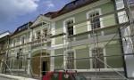 budova rekonstrukce fasáda